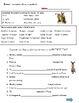 Shrek-themed AR Regular Preterite Spanish Practice Sheet