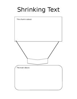 Shrinking Text