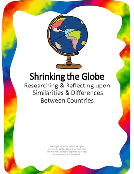 Shrinking the Globe--Finding Similarities & Differences