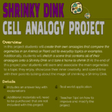 Shrinky Dink Cell Analogy Project