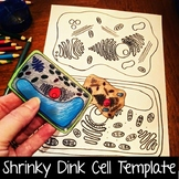 Shrinky Dink Cell Template