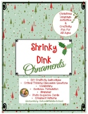 Shrinky Dink Ornament: Language Activities and Craftivity