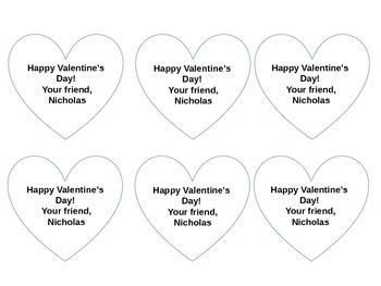 Shrinky Dink Printable Valentine