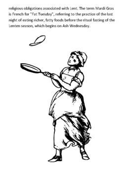 Shrove Tuesday Handout