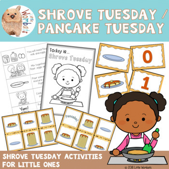 Shrove Tuesday / Pancake Tuesday No Prep Activities