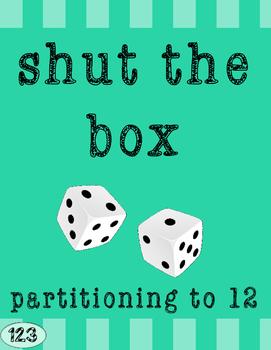 Math Game {FREEBIE!} - Shut the Box