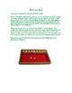 Shut the Box: A Colonial Game
