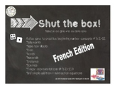 Shut the Box-French Edition