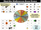 Shut the Halloween Door Board Game