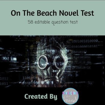 Shute's On The Beach Book Test with Key