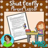 Shutterfly™ Parent Letter