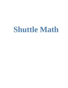 Shuttle Math- A Review Game