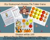 Shy Scarecrow Division File Folder Game Common Core 3.OA.C.7