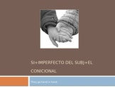 Si clauses (Si + el imperfecto del subjuntivo + el condicional)