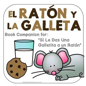 Si le das una galleta a un ratón Spanish Speech Therapy Book Companion