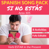 Si no estás: Spanish Song to Practice the verb ESTAR in th