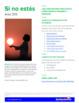 Si no estás: Spanish Song to Practice the verb ESTAR in th