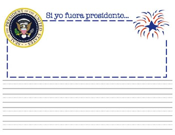 Si yo fuera presidente, IN SPANISH (If I were President)