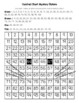 Siamese Cat Hundred Chart Mystery Picture with Number Cards for Support