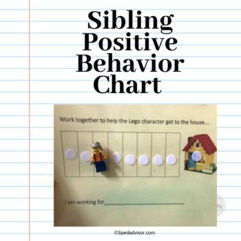 Sibling Positive Behavior Chart