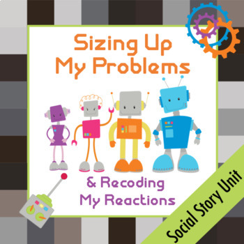 Sizing Up My Problems Social Story AND ACTIVITY