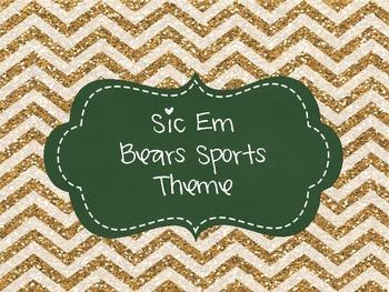 Sic Em Bears Sports Pack