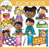 Sick Kids Clip Art