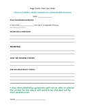 Sick Notification - Communicable Illnesses