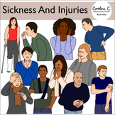 Sickness and Accidents Clip Art