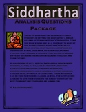 Siddhartha Analysis Question Package