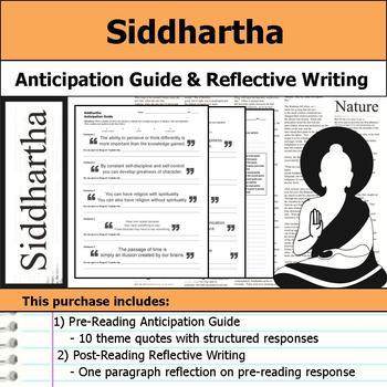 Siddhartha - Anticipation Guide & Reflection