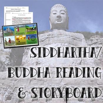 Siddhartha/Buddha Reading & Storyboard
