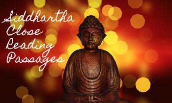 Siddhartha Close Reading Activities