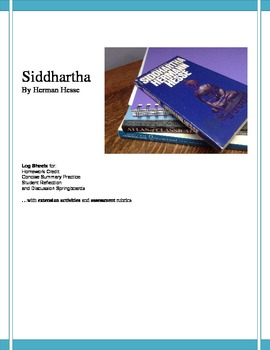 Siddhartha Reading Check & Student-Generated Study Guide