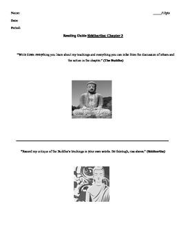 Siddhartha Herman Hesse Chapter 3 Handout