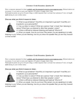 Siddhartha Literature Circle Discussion Question 1