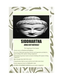Siddhartha Unit Printables & More-Lecture,Discussion Qs,Writing,Tests,Activities