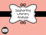 Siddhartha by Hermann Hesse Parts I and II Literary Analysis