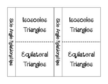 Side Angle Relationship