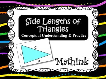 Side Lengths of Triangles Concepts and Practice