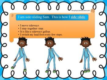 Side-Slide Skill Cue Card