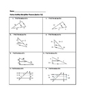 Side Splitter Theorem Partner Activity