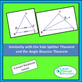 Geometry - Side Splitter Theorem and the Angle Bisector Th
