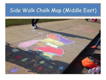 Side Walk Chalk Map