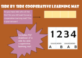 Side by Side Cooperative Learning Mat