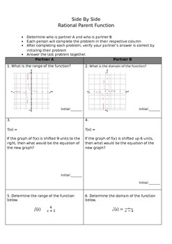 Side by Side rational functions