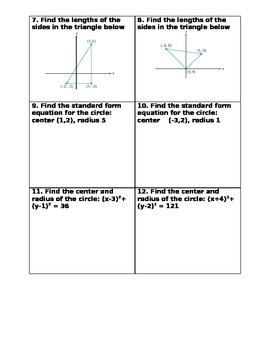Side by Side the Cartesian plane