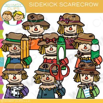 Sidekick Scarecrow Clip Art