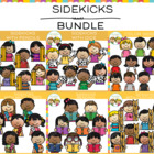 Sidekicks Clip Art GROWING Bundle
