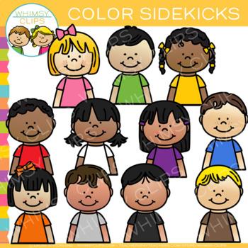 Sidekicks Color Clip Art